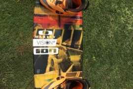 Slingshot Vision 140x43 mit Ronix Boots 46/47