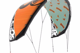 LIQUID FORCE SOLO V3 2017 KITESURFING KITE 15.5M COLOUR RED Demo 10 Mins
