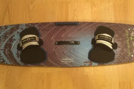 Dimitri Pro SkyWalker Competition Kiteboard 127 x 37.5 Maui Magic Bindings Nice!