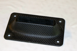 FLUSH MOUNT CARBON F-BOX 4 HOLE MOUNTING PLATE FOR ALPINE SWORD F ONE CARAFINO