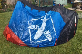 Best TS 8m kite 2014 complete with bar and rucksack