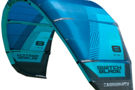 Cabrinha Switchblade 11 m kite - kite only Blue 2018  kitesurf wind surfing