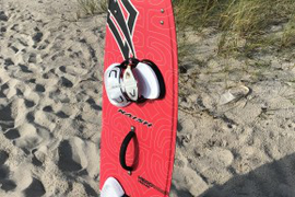 2015 Naish hero board 140x43. Versatile size. Grea  ...