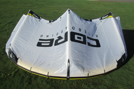 USED Core Riot XR4 Kite-6m-White/Yellow