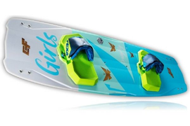 2018 CrazyFly Girls Kiteboard Complete w/Bindings, Fins, and All Hardware