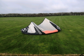 14m slingshot rally kitesurfing kite with bar and lines