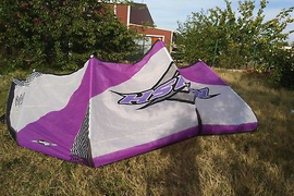 Naish Cult 10.5m kite complete,kite,bar,lines and bag