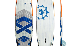Slingshot Screamer Surf Kiteboard 5ft6 With fins