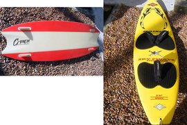 2 Kite Boards - Directional and Bi - Directional - Very Good condition