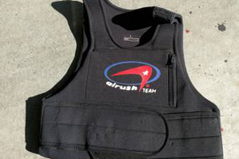 Harness, Bar, Impact Vest and Pump