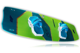 2018 CrazyFly Allround Kiteboard Complete w/Bindings, Fins, and All Hardware
