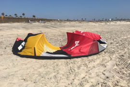 2014 Blade Fat Lady V2 17m Kiteboarding Light wind kite