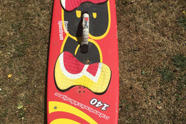 Classic RRD 140 broad-spectrum kite-board