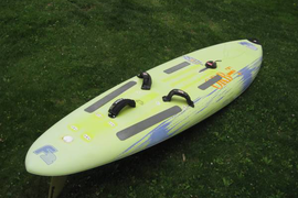 WINDSURFING BOARD F2 ORBIT, BOOMS, MAST, SAILS