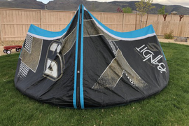 I am selling my 11m bandit 5 kite + bar and lines.  ...