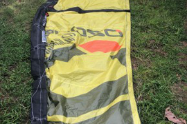 Kite bag included. Great used kite. It has no hole  ...