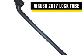 AIRUSH PU LOCK TUBE - V3 BRAIN CHICKEN LOOP SMART ANALOG KITESURF KITEBOARD BAR