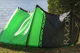 Kite for sale.   Ocean Rodeo Razor 10m 201  ...