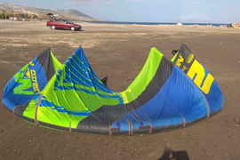 Liquid Force NRG 12M 2013 kite used