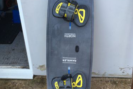 2017 North Gambler With Apex 2 Bindings Kitesurf board VVG condition