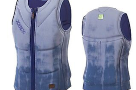Jobe Rev. Comp Vest Men Zipper Blue Wake Boarding Vest Men Surf Kite J17