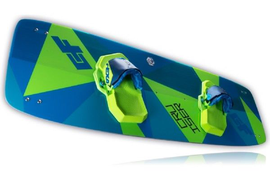 2018 CrazyFly Cruiser Kiteboard With Fins, Handle, and Hardware
