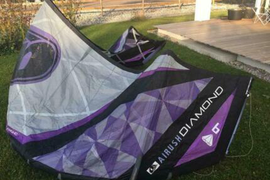 Kite Airush Diamond 9 m²