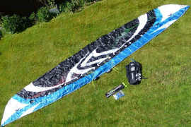 Flysurfer Speed 4 Lotus 12m Limited Edition Kite - Like New