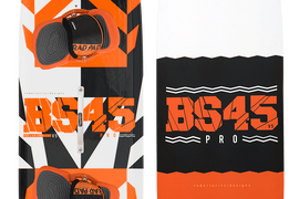 NEW 2018 RRD BS45 Pro Kiteboard 145 X 45 CM - complete with everything