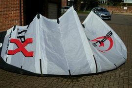 14.5 m Spleene SPX Kitesurfing Kite for sale - free UK postage!