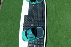 NKB Jaime textreme 136x41 Kiteboard + NTT Bindung / Northkiteboarding / North