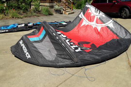 2015 rally 9m kite with bag no bar plus shipping  ...