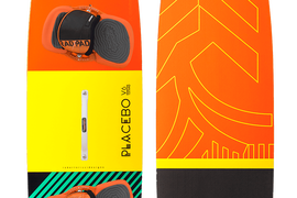 NEW RRD Placebo V6 Kiteboard 137 X 40 CM - complete with everything
