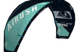2019 Airush Diamond V4 Kitesurf Kite (Midnight Teal)