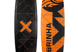 2017 Cabrinha XCALIBER kiteboard with H1 SMALL Bindings kitesurfing Freestyle
