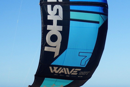 Slingshot Wave SST 7 M kite 2017; used 5 times, purchased new in September 2018