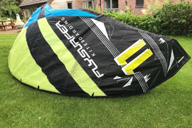 FLYSURFER Boost2 11m kitesurfing kite complete with bar, lines, bag, spare kit, self launcher