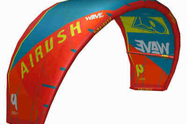 2019 Airush Wave V8 Kitesurf Kite (Acid Teal)