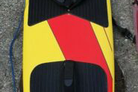 Flexifoil Kitesurf Board Loose Unit 7'0/213 with Rhino surfboard bag.