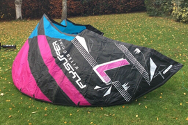 FLYSURFER Boost2 7m kitesurfing kite. including bar and lines - vgc throughout