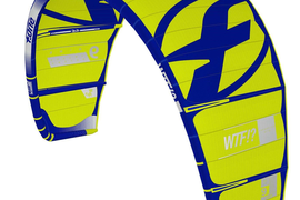 2018 F-One WTF V.1 - 9M COMPLETE KITESURFING KITE w WTF 5-Line Adjustable Bar