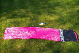 Flexifoil Super 10 Power Kite - Magenta and Black