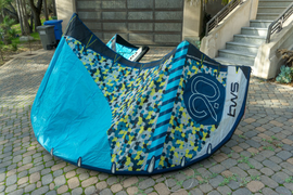 2018 9m Ben Wilson Surf AE2 kiteboarding kite in g  ...