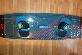 2015 North X-Ride Kiteboard Kitesurf Board Twintip 141x42