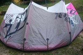 KITE-SET, NORTH REBEL Kite 10m² mit BAR
