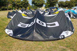 Core Kite XR5 LW 17 m² 2018 komplett mit Sensor 2s Bar