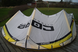 Core XR2 Kite only 9qm + Kitebag Kitesurfen