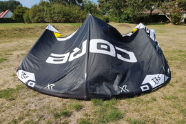 Core Kite XR5 LW 13,5 m² 2018 komplett mit Sensor 2s Bar