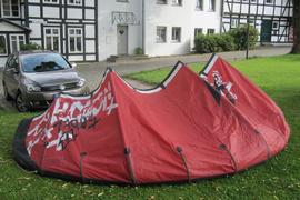 Einsteiger Kite North Rebel in 12 m²