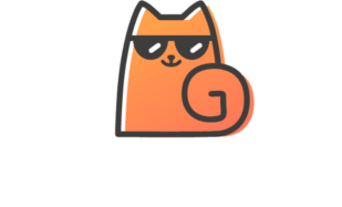 Getsurance logo with white font color